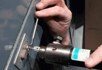 保险柜开锁